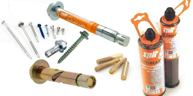 spit, evolution fasteners, Molabolt, structural fixings, capsule, chemical, anchors, resin, Epcon C8