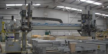 framing station, sheathing station, multi tool, butterfly table, automation, automatic, CNC,