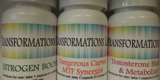 Transformations Labs MTF kit, HRT - hormone replacement therapy M2F MTF male to female 2 pack