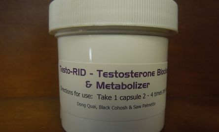 Transformations Labs Testo-RID Transgender HRT Hormone replacement therapy testosterone blocker MTF