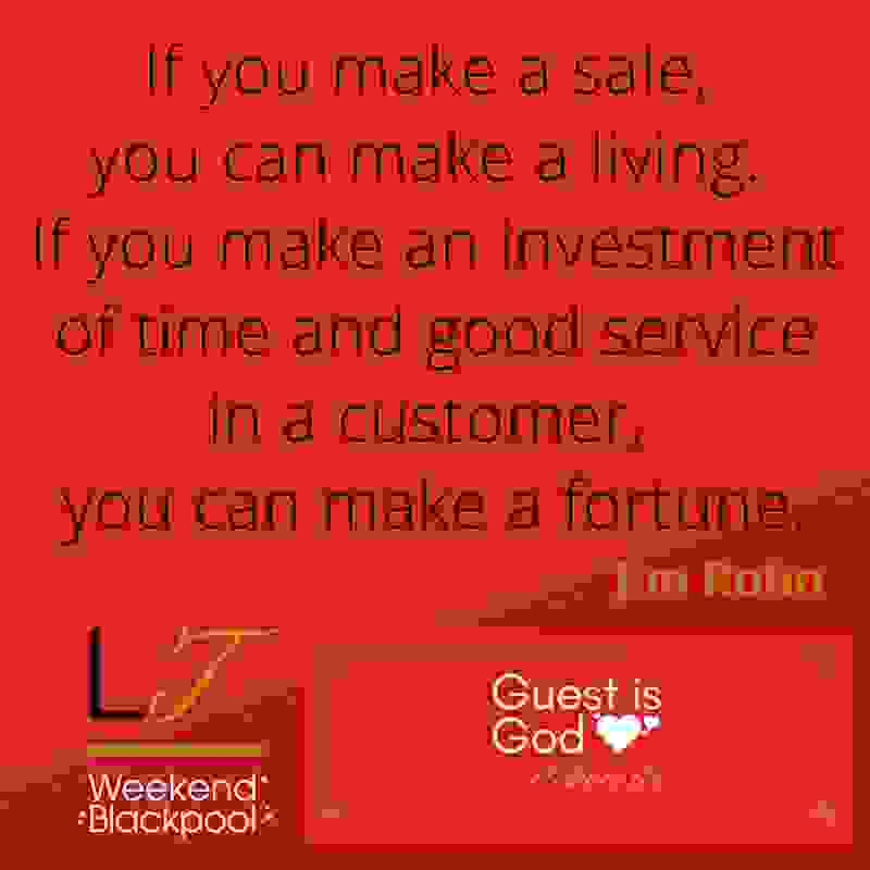 Customer Service Experience Quotes, Jim Rohn.