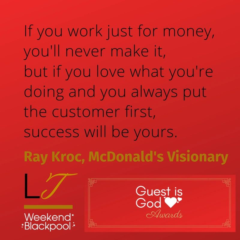 Customer Service Quotes, Ray Kroc, McDonald's