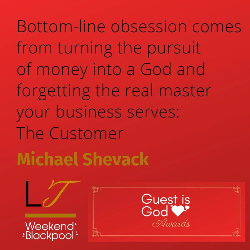 Customer Service Quotes, Michael Shevack