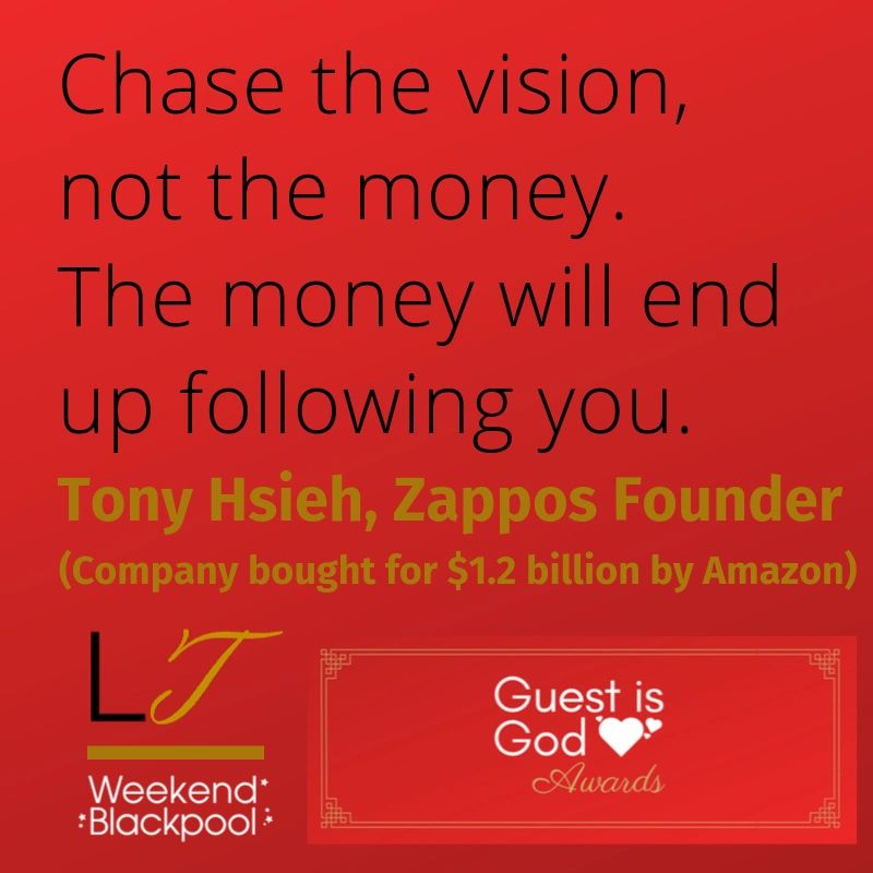 Customer Service Quotes, Tony Hsieh, Zappos
