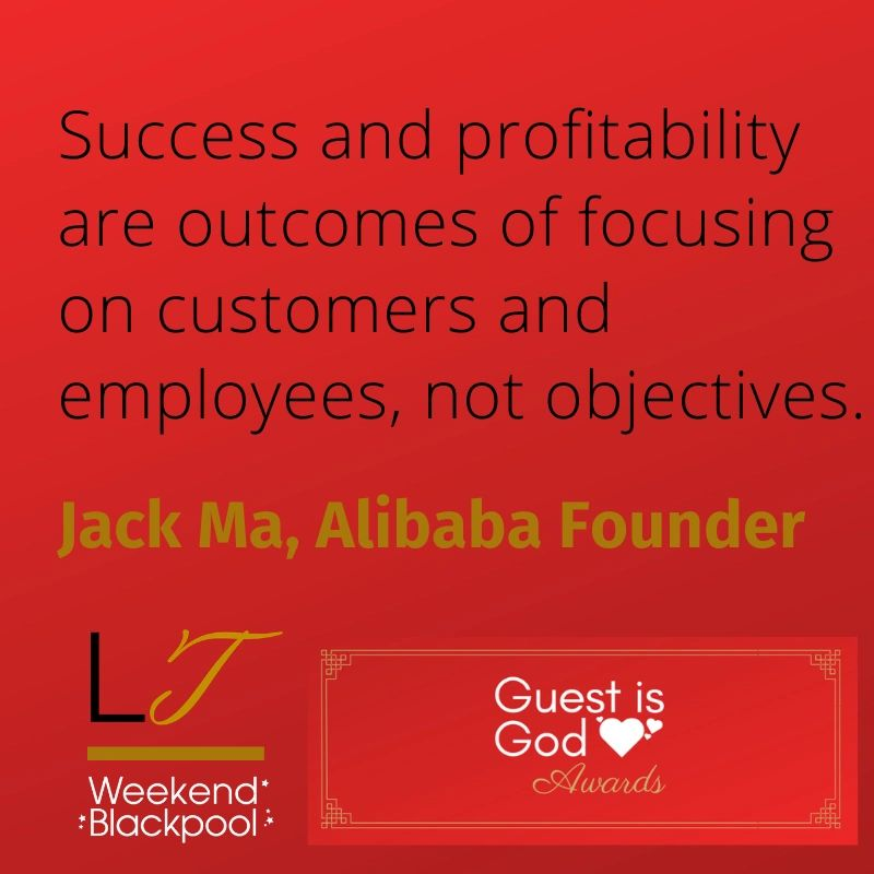 Customer Service Quotes, Jack Ma, Alibaba.