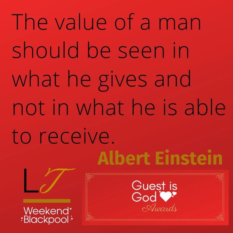 Customer Service Quotes, Albert Einstein.
