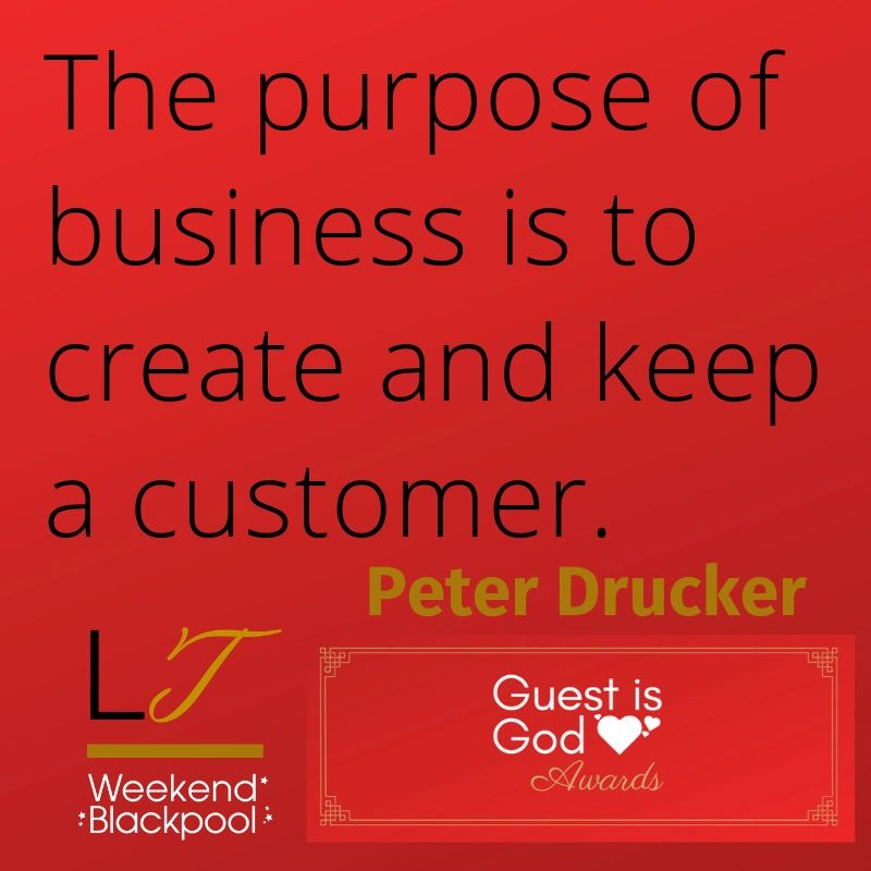 Customer Service Quotes, Peter Drucker.