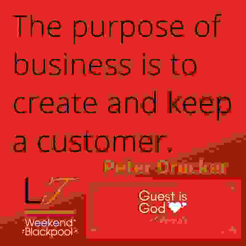 Customer Service Experience Quotes, Peter Drucker.
