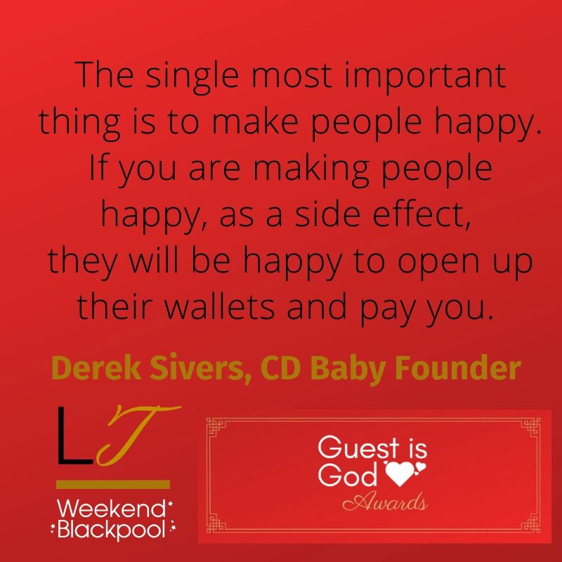 Customer Service Quotes, Derek Sivers, CD Baby.