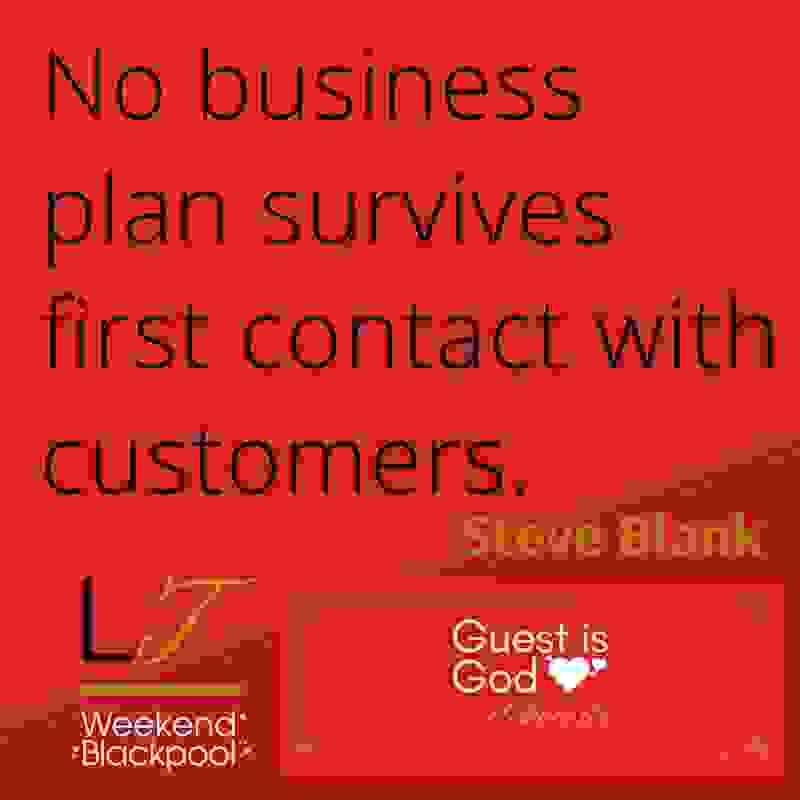 Customer Service Experience Quotes, Steve Blank.