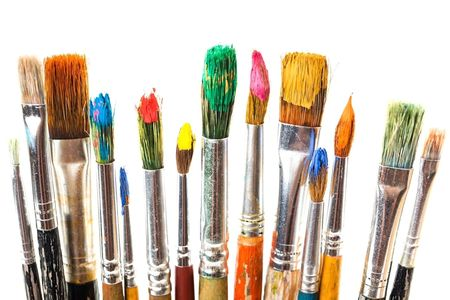 Paint, art, paint brushes, illustration, picture books, draw, write, series, artist, author, brush
