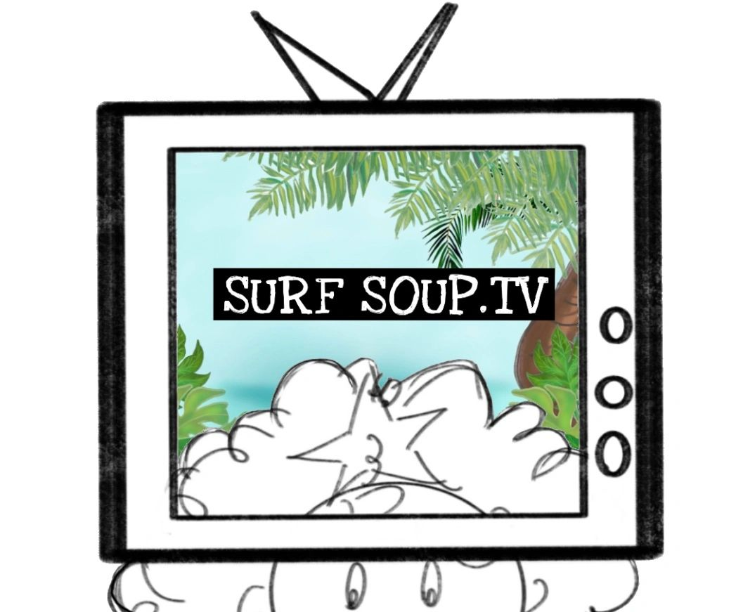 Starfish, Surfsoup tv, surf Soup, surfing, surf, cartoon, picture book, television,ocean, ocean, joy
