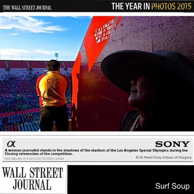 WSJ Wall Street journal special olympics Sony photo of the year photography the year in Eli reed