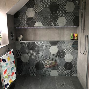 Wetroom shower