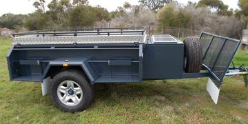 off road trailers built in Adelaide south Australia