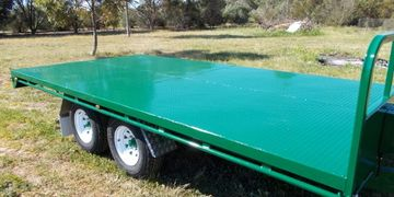 flat top trailers built in Adelaide South Australia