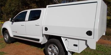 Custom Built Aluminium Ute Canopies