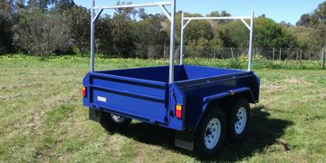tandem box trailers built in Adelaide South Australia