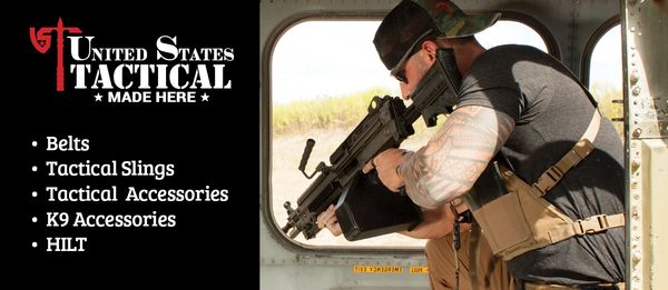 United States Tactical gear 100% American Made