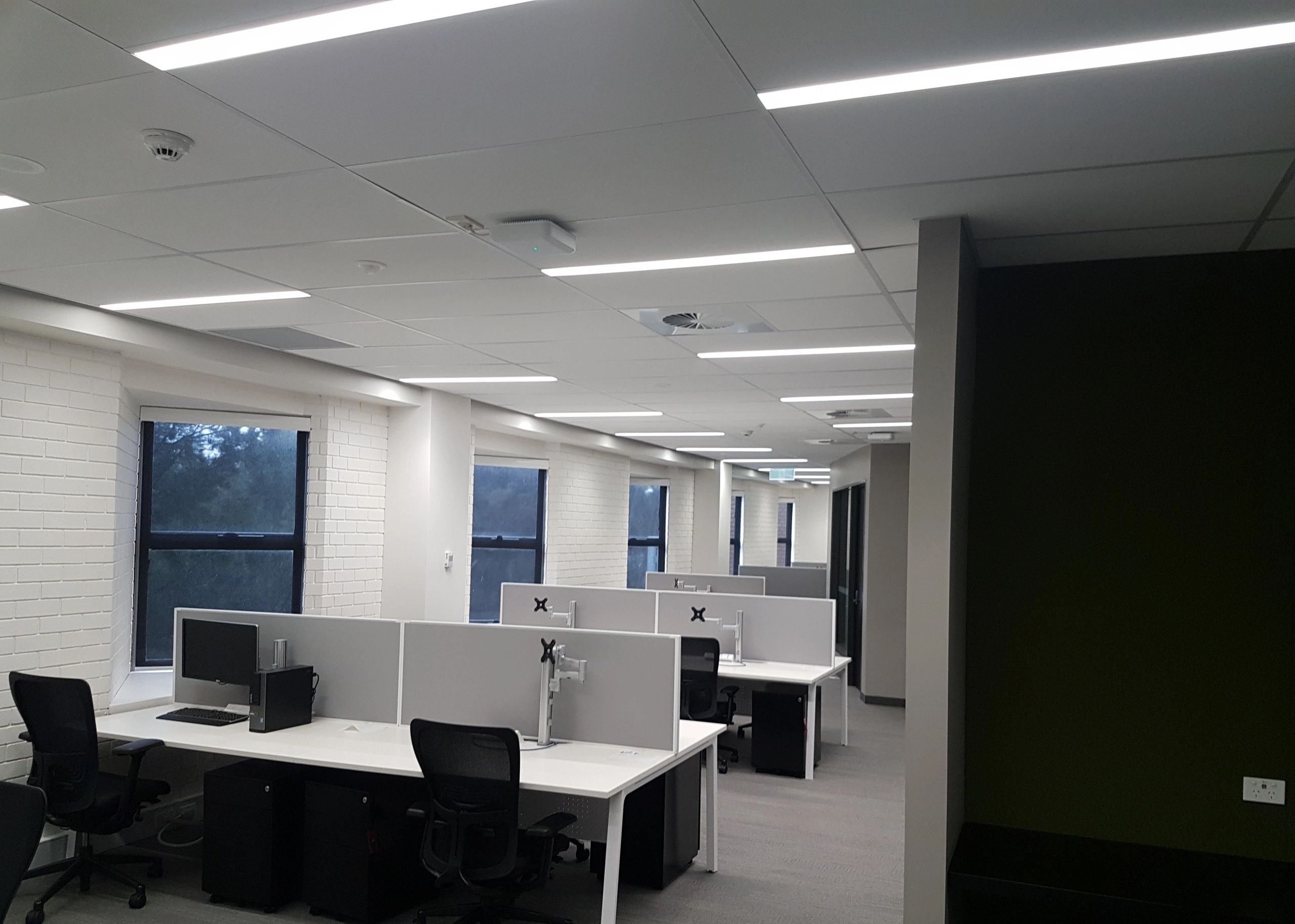 LED lighting upgrade at La Trobe University