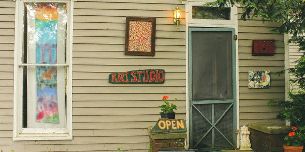 art studio, vevay, indiana, small town, visit, vacation, rural, charming, friendly, staycation