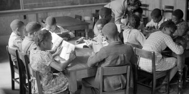 picture of black students in the classroom
