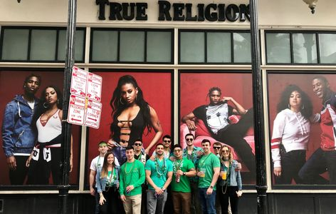 True Religion St. Patrick's Day New Orleans Bourbon Street Bar Crawl Party My VIP Life Hotel