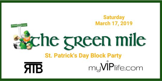 St. Patrick's Day, Party, The Green Mile, Houston, RTB, Texas, Austin, Block, Pub Crawl, My VIP Life