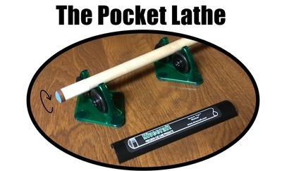 The ORIGINAL Pocket Lathe has been a favorite cue tip shaping tool for more than 20 years
