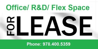 Office, Flex, R&D Space for Lease