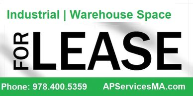 Industrial, Manufacturing, Warehouse Space for Lease
