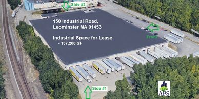 150 Industrial Road, Leominster MA - Industrial Space for Lease