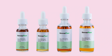 greenpost full spectrum cbd oil for pain and anxiety relief