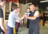 Need some self defense training, come see big John, he is our own in house professional personal trainer