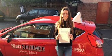Quick Pass Driving Lessons Swanley Jade H