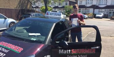 Pass Driving Test Fast Bromley Callum W