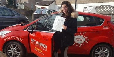 Driving Lessons Female Instructor Dartford