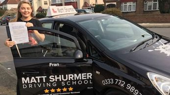 Woman Driving Instructor Orpington