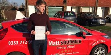 Quick Pass Driving Lessons Sidcup Ben H