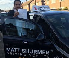 Lady Driving Instructor Bromley