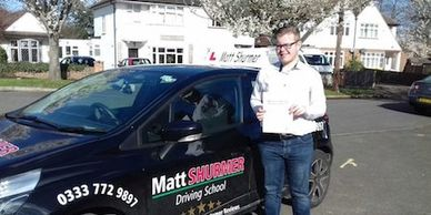 Learn To Drive School Bromley Toby B