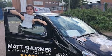Woman Driving Instructor Amy L