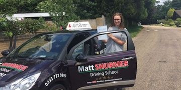 Pass Driving Test Fast Swanley Charlotte G