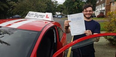 Booking Driving Lessons Swanley