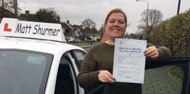 Female Driving Instructors Orpington