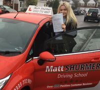 Driving Lesson Packages Sidcup Lottie J