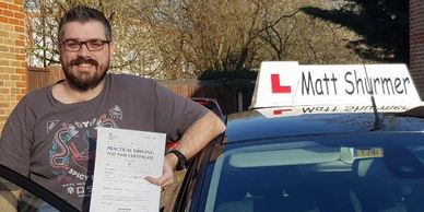 Booking Driving Lessons Dartford