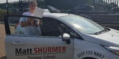 Woman Driving Instructor Bromley