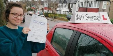 Automatic Driving Instructors Gravesend | Lucy C