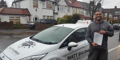 Automatic Driving Lessons Near Me Sidcup | Godwin N